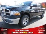 2012 Black Dodge Ram 1500 SLT Quad Cab #56481133