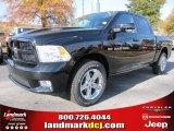 2012 Black Dodge Ram 1500 Sport Crew Cab #56481132
