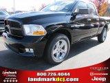 2012 Black Dodge Ram 1500 Express Quad Cab #56481130