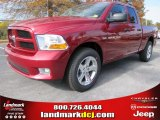 2012 Deep Cherry Red Crystal Pearl Dodge Ram 1500 Express Quad Cab #56481129