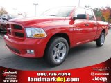 2012 Flame Red Dodge Ram 1500 Express Quad Cab #56481128
