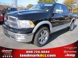 2012 Black Dodge Ram 1500 Laramie Crew Cab #56481127