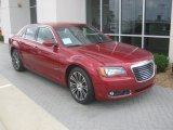 2012 Deep Cherry Red Crystal Pearl Chrysler 300 S V6 #56481308
