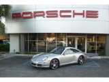 2008 Arctic Silver Metallic Porsche 911 Targa 4S #56481300