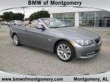 2011 Space Gray Metallic BMW 3 Series 328i Convertible #56481231