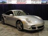 2007 Arctic Silver Metallic Porsche 911 Turbo Coupe #56481229