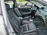 2009 Honda Accord EX-L V6 Sedan EX-L Passengers seat in black leather