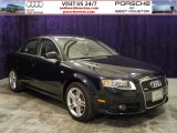 2008 Deep Sea Blue Pearl Effect Audi A4 2.0T S-Line Sedan #56481219