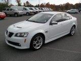 2009 White Hot Pontiac G8 Sedan #56481376