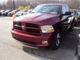 2012 Deep Cherry Red Crystal Pearl Dodge Ram 1500 Express Quad Cab 4x4 #56481356