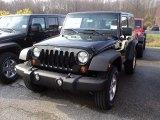 2012 Black Jeep Wrangler Sport S 4x4 #56481354
