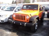 2012 Crush Orange Jeep Wrangler Sport S 4x4 #56481353