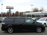 2011 Black Toyota Sienna SE #56513876