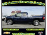 2012 Imperial Blue Metallic Chevrolet Silverado 1500 LS Extended Cab 4x4 #56514400