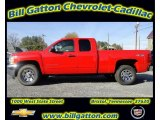 2012 Victory Red Chevrolet Silverado 1500 LS Extended Cab 4x4 #56514399