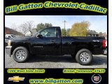 2012 Black Chevrolet Silverado 1500 Work Truck Regular Cab 4x4 #56514398