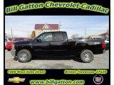 2012 Black Chevrolet Silverado 1500 LS Extended Cab 4x4 #56514394