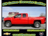 2012 Victory Red Chevrolet Silverado 1500 LS Extended Cab 4x4 #56514392