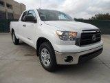 2012 Super White Toyota Tundra SR5 Double Cab #56513865