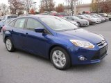 2012 Sonic Blue Metallic Ford Focus SE Sport Sedan #56514127