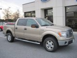 2011 Pale Adobe Metallic Ford F150 XLT SuperCrew 4x4 #56514120