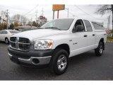 2008 Bright White Dodge Ram 1500 ST Quad Cab 4x4 #56514084