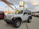 2010 Bright Silver Metallic Jeep Wrangler Rubicon 4x4 #56513835