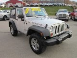 2010 Jeep Wrangler Bright Silver Metallic