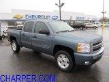 2009 Blue Granite Metallic Chevrolet Silverado 1500 LT Z71 Crew Cab 4x4 #56514330