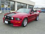2008 Ford Mustang GT/CS California Special Convertible Data, Info and Specs