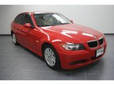 2006 Electric Red BMW 3 Series 325i Sedan #56514059