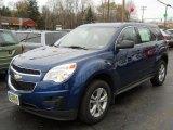 2010 Navy Blue Metallic Chevrolet Equinox LS #56514264