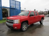 2007 Victory Red Chevrolet Silverado 1500 LT Extended Cab 4x4 #56513740