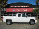 2009 Summit White Chevrolet Silverado 1500 LS Extended Cab #56513731