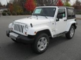 2012 Bright White Jeep Wrangler Sahara 4x4 #56514241