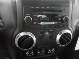 2012 Jeep Wrangler Sahara 4x4 Audio System