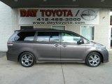 2012 Predawn Gray Mica Toyota Sienna SE #56513715