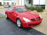 2007 Mercedes-Benz SLK Mars Red