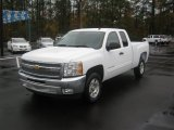 2012 Summit White Chevrolet Silverado 1500 LT Extended Cab #56514213