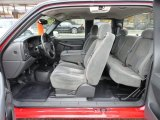 2006 Chevrolet Silverado 1500 Work Truck Extended Cab 4x4 Dark Charcoal Interior