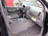 2012 Nissan Frontier SV Crew Cab 4x4 Graphite Interior