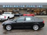 2010 Tuxedo Black Metallic Ford Fusion SEL V6 AWD #56513970