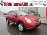 2012 Cayenne Red Nissan Rogue SV AWD #56514189