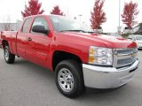 2012 Victory Red Chevrolet Silverado 1500 LS Extended Cab #56513924