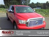 2011 Radiant Red Toyota Tundra Limited CrewMax 4x4 #56564317