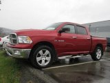 2009 Inferno Red Crystal Pearl Dodge Ram 1500 Big Horn Edition Crew Cab 4x4 #56564020