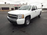 2011 Summit White Chevrolet Silverado 1500 LS Extended Cab #56564269