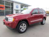 2006 Red Rock Crystal Pearl Jeep Grand Cherokee Limited 4x4 #56564256