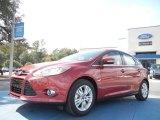 2012 Red Candy Metallic Ford Focus SEL 5-Door #56563981
