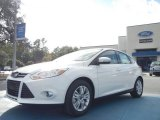 2012 White Platinum Tricoat Metallic Ford Focus SEL 5-Door #56563978